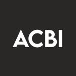 Stock ACBI logo