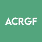 Stock ACRGF logo