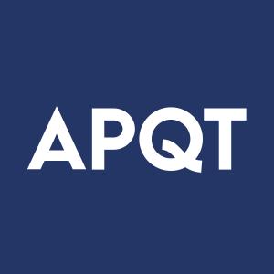 Stock APQT logo