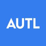 Stock AUTL logo