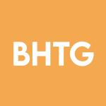 Stock BHTG logo