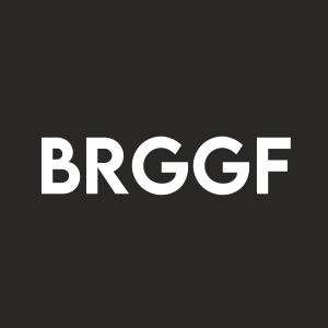 Stock BRGGF logo