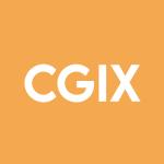 Stock CGIX logo