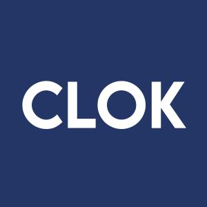 Stock CLOK logo