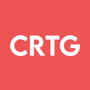 Stock CRTG logo