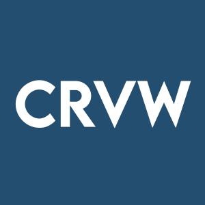 Stock CRVW logo
