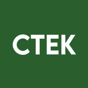Stock CTEK logo