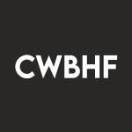 Stock CWBHF logo