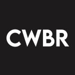 CWBR Stock Logo