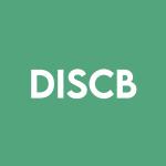 Stock DISCB logo
