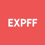 Stock EXPFF logo