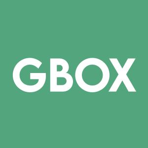 Stock GBOX logo