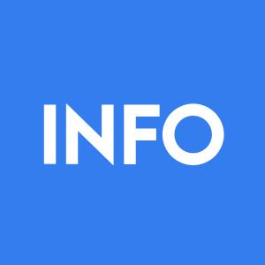 Stock INFO logo