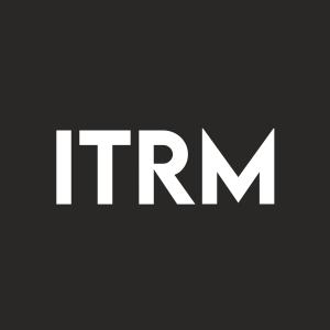 Stock ITRM logo