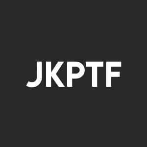 Stock JKPTF logo