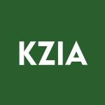 KZIA Stock Logo