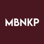 Stock MBNKP logo