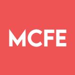 Stock MCFE logo