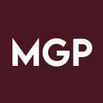 MGP Stock Logo
