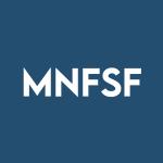 Stock MNFSF logo