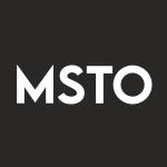 MSTO Stock Logo