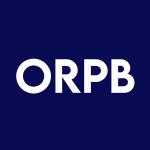 Stock ORPB logo