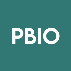 Stock PBIO logo