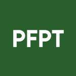 Stock PFPT logo