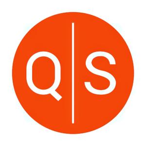 Stock QNST logo