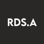 Stock RDS.A logo