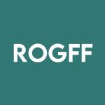 Stock ROGFF logo
