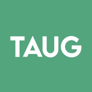 Stock TAUG logo