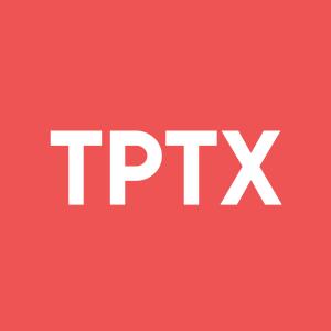 Stock TPTX logo