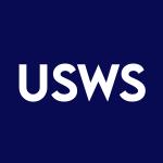Stock USWS logo
