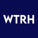 Stock WTRH logo