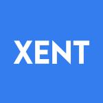 Stock XENT logo