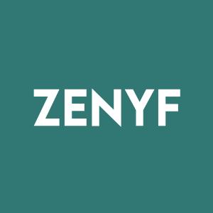 Stock ZENYF logo